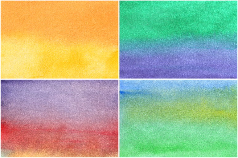 50 Watercolor Backgrounds 04 example image 8