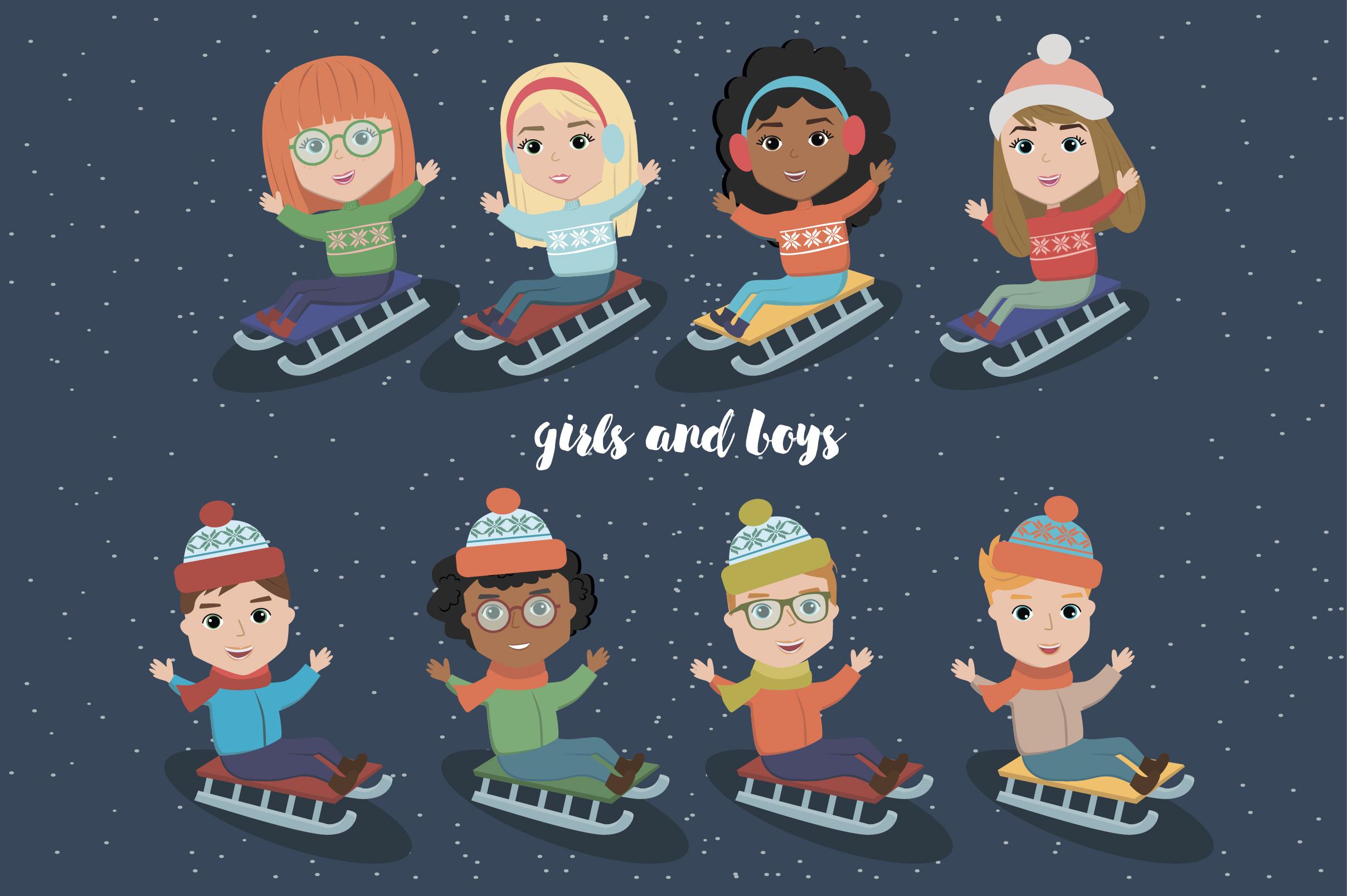 Creator Christmas kids character example image 4