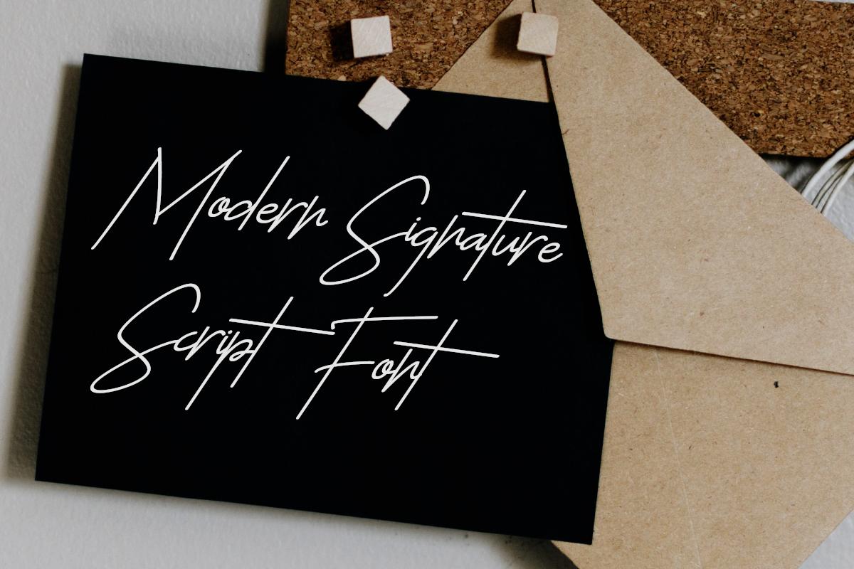 The Sayinistic Signature Font example image 2