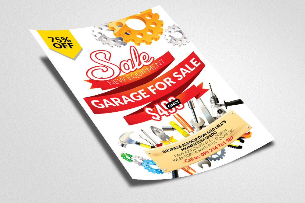 Garage Sale Flyer Templates example image 3