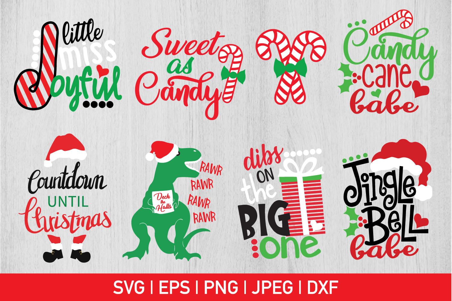 Christmas Bundle Svg example image 1
