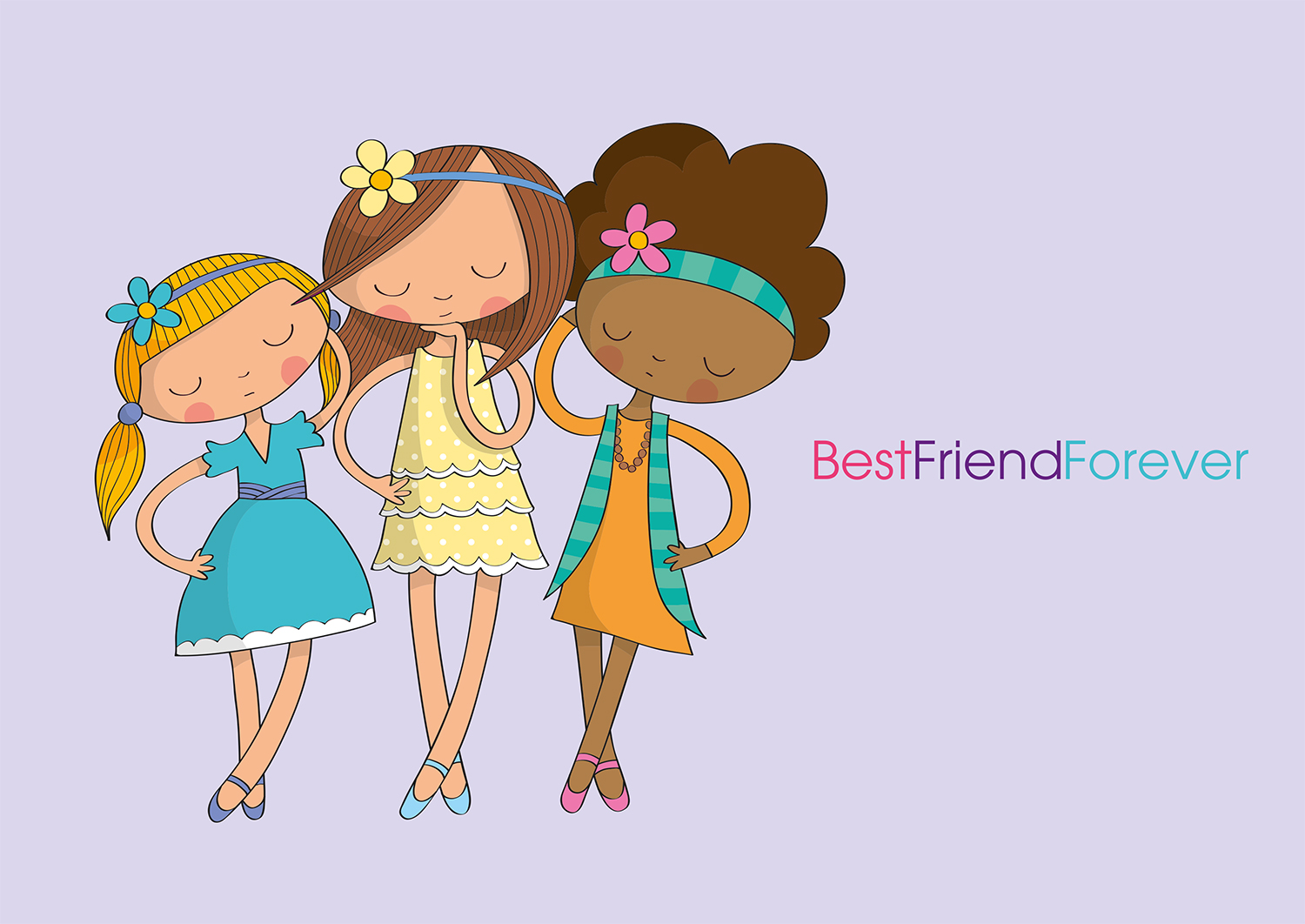 BFF Best Friends Forever example image 3