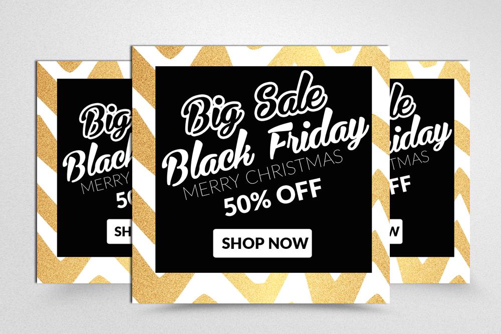 Black Friday Sale Banner Banner example image 1