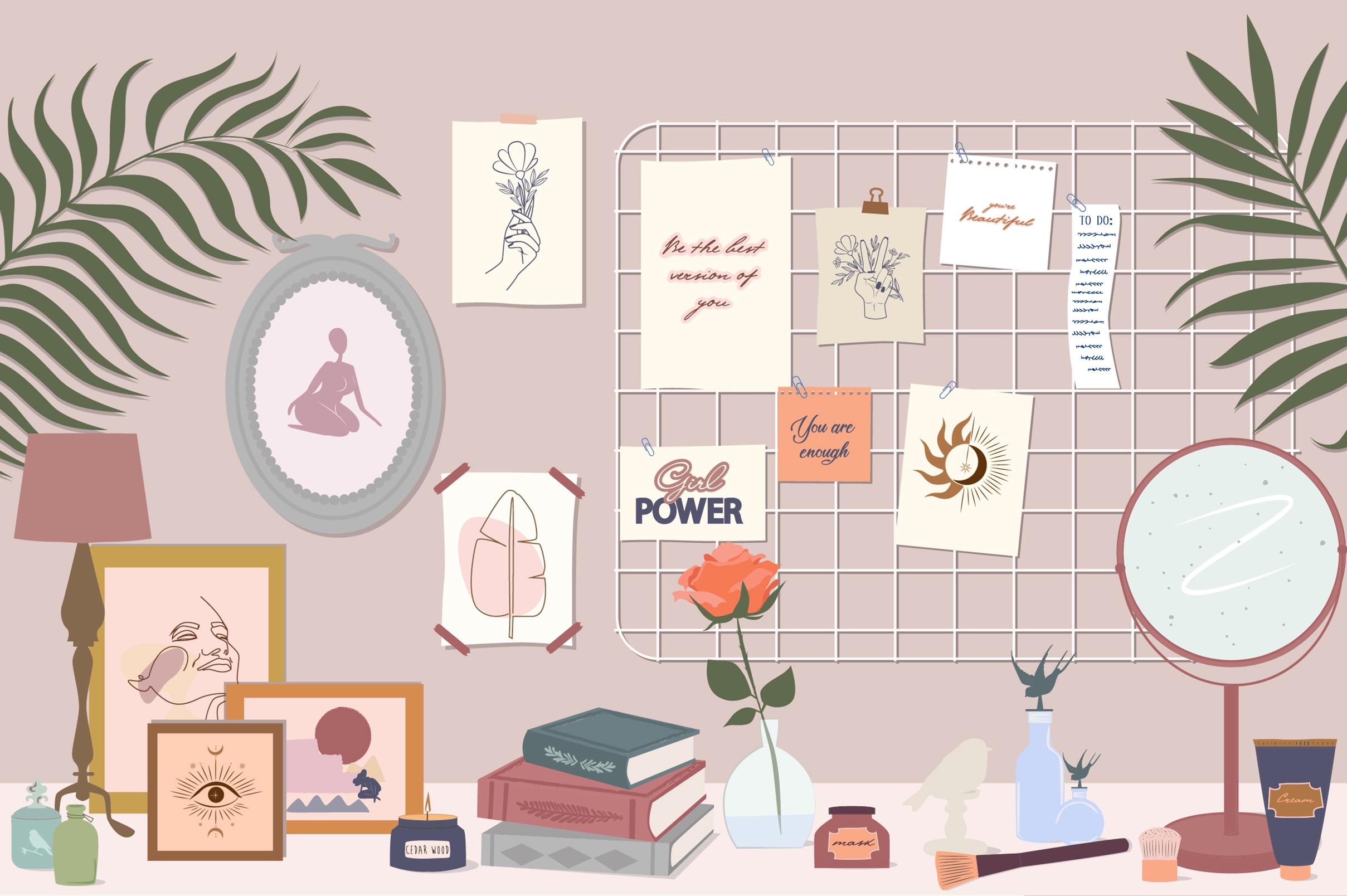 Lifestyle interior & mood board example image 7
