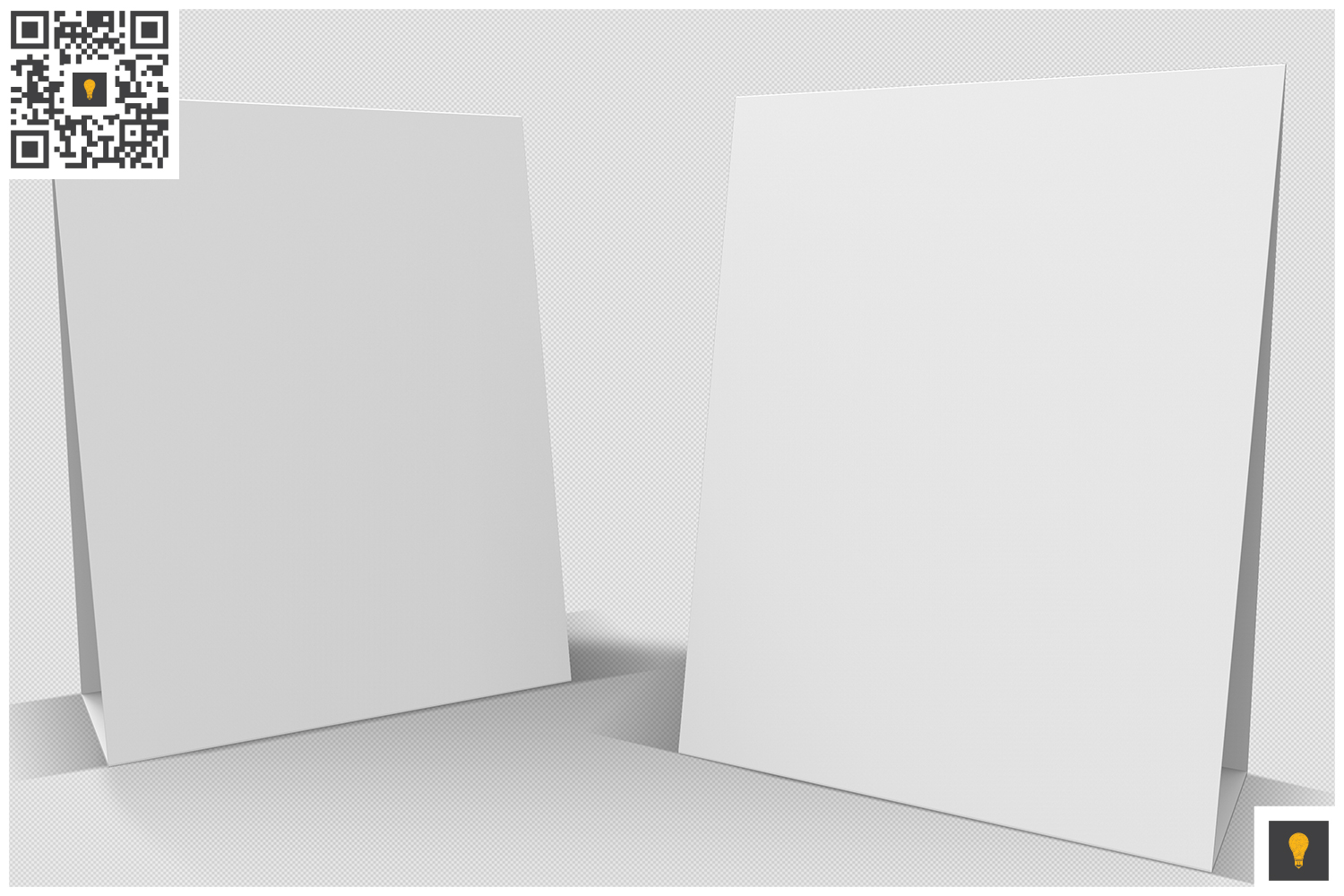 Table Tent 3D Render example image 4
