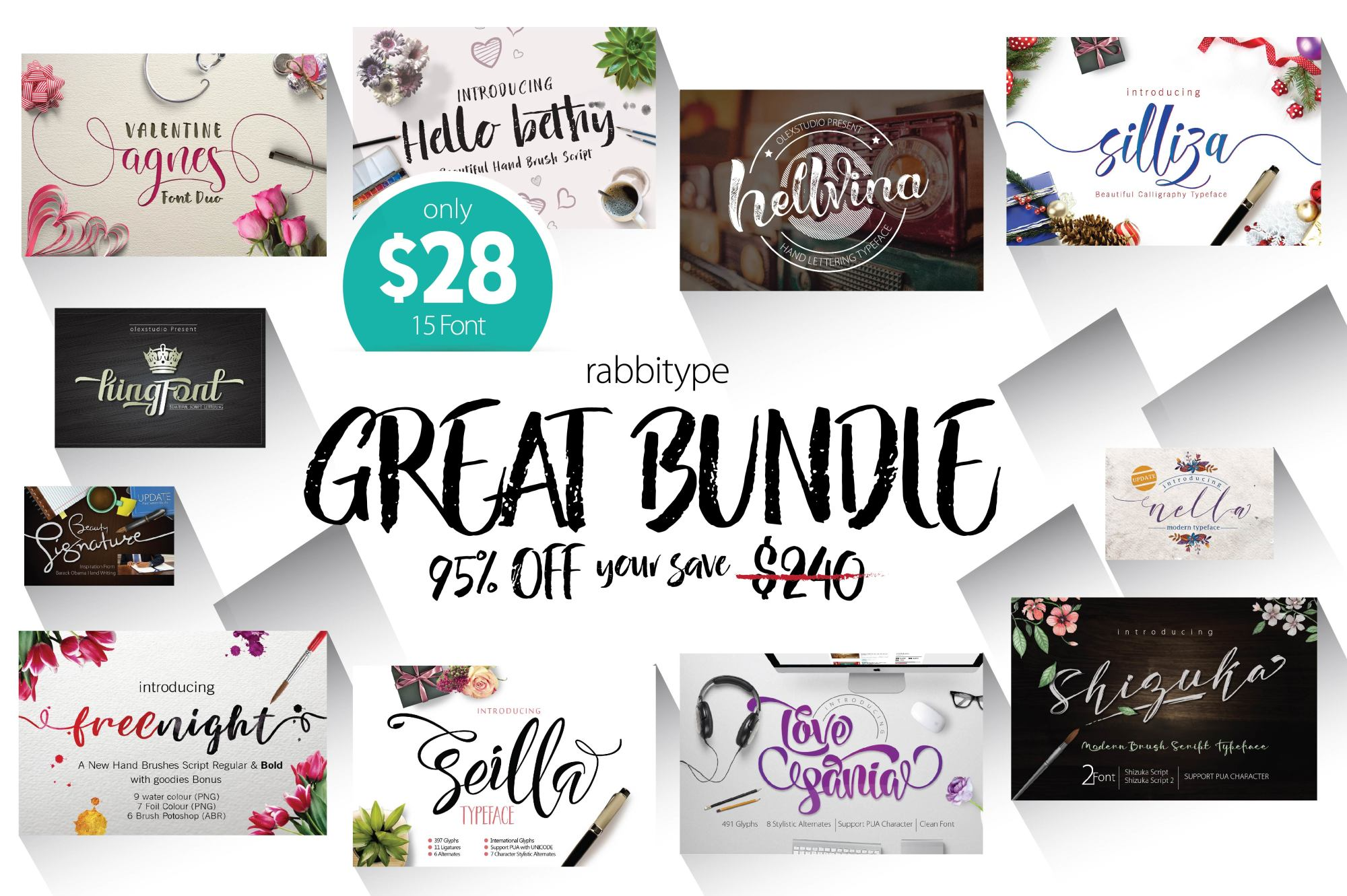 GREAT BUNDLE 95% OFF example image 2