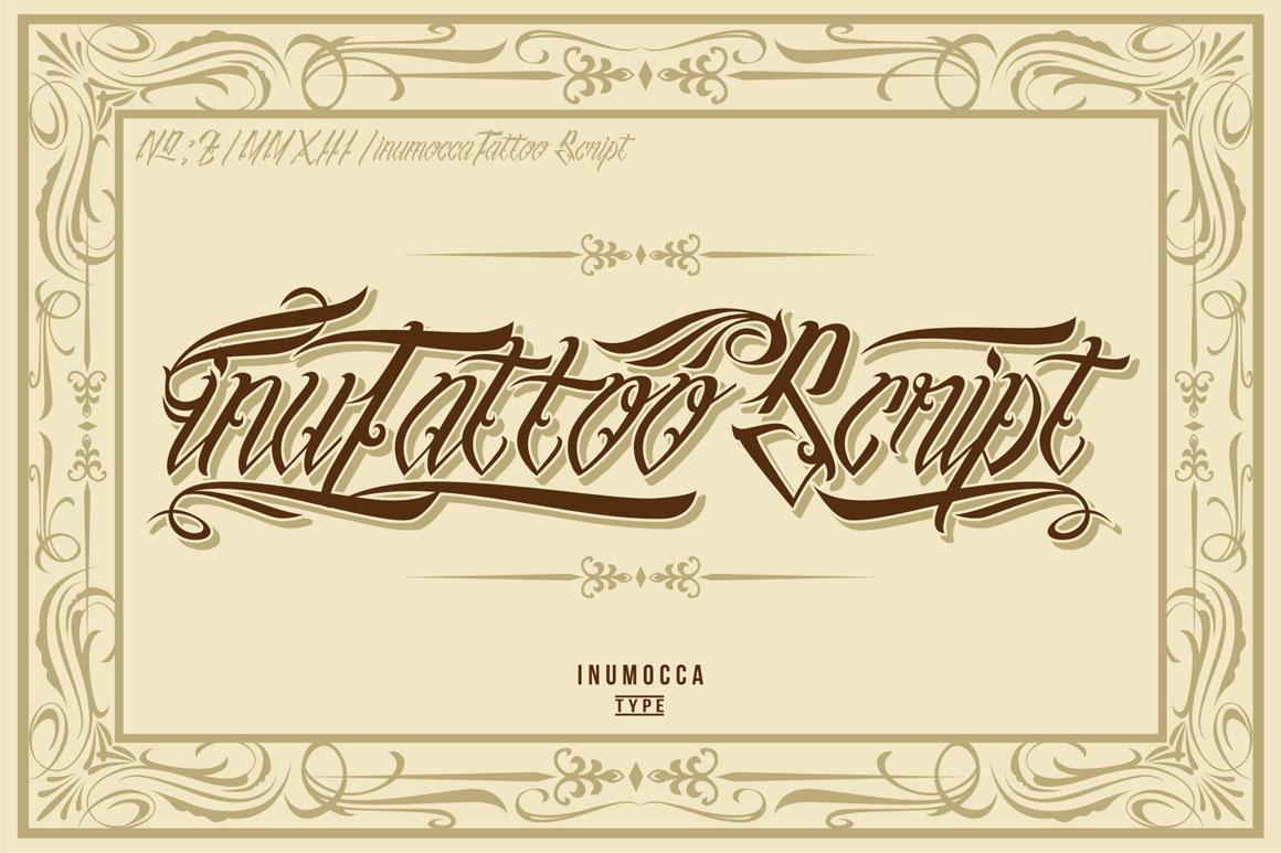 inuTattoo Script + Poster Vector example image 1