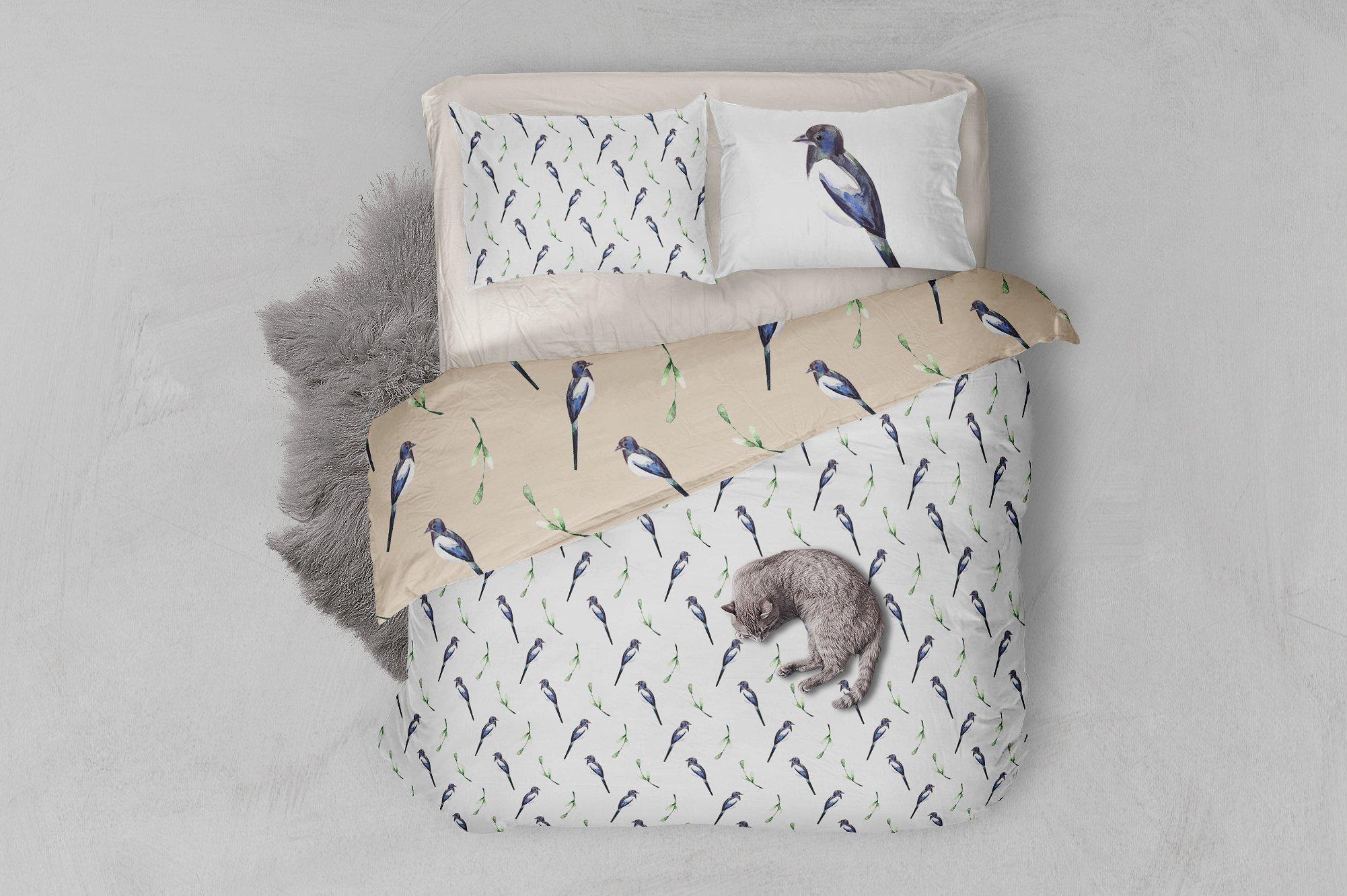 Watercolor Birds example image 7
