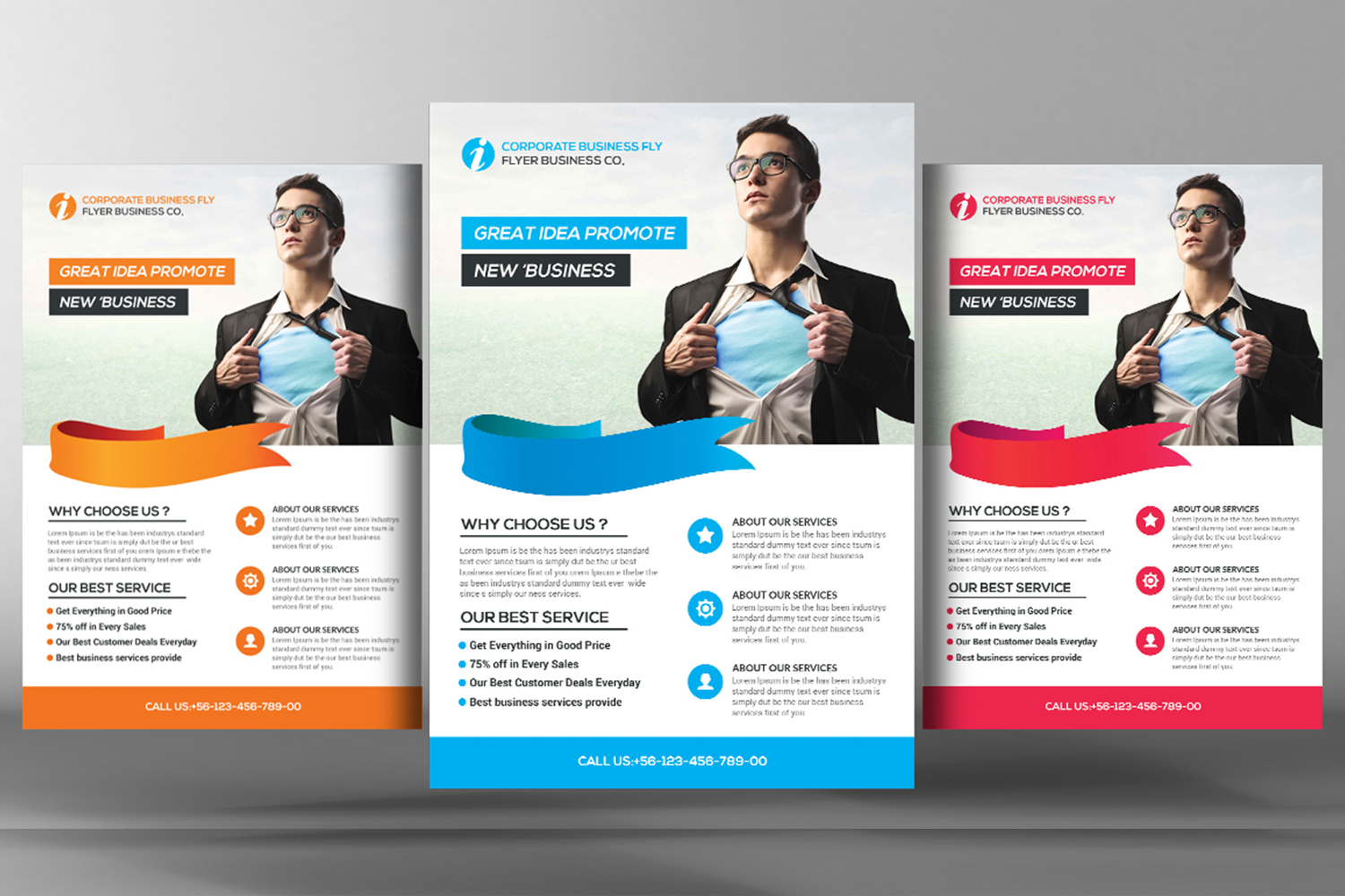 Light Business Flyer example image 1