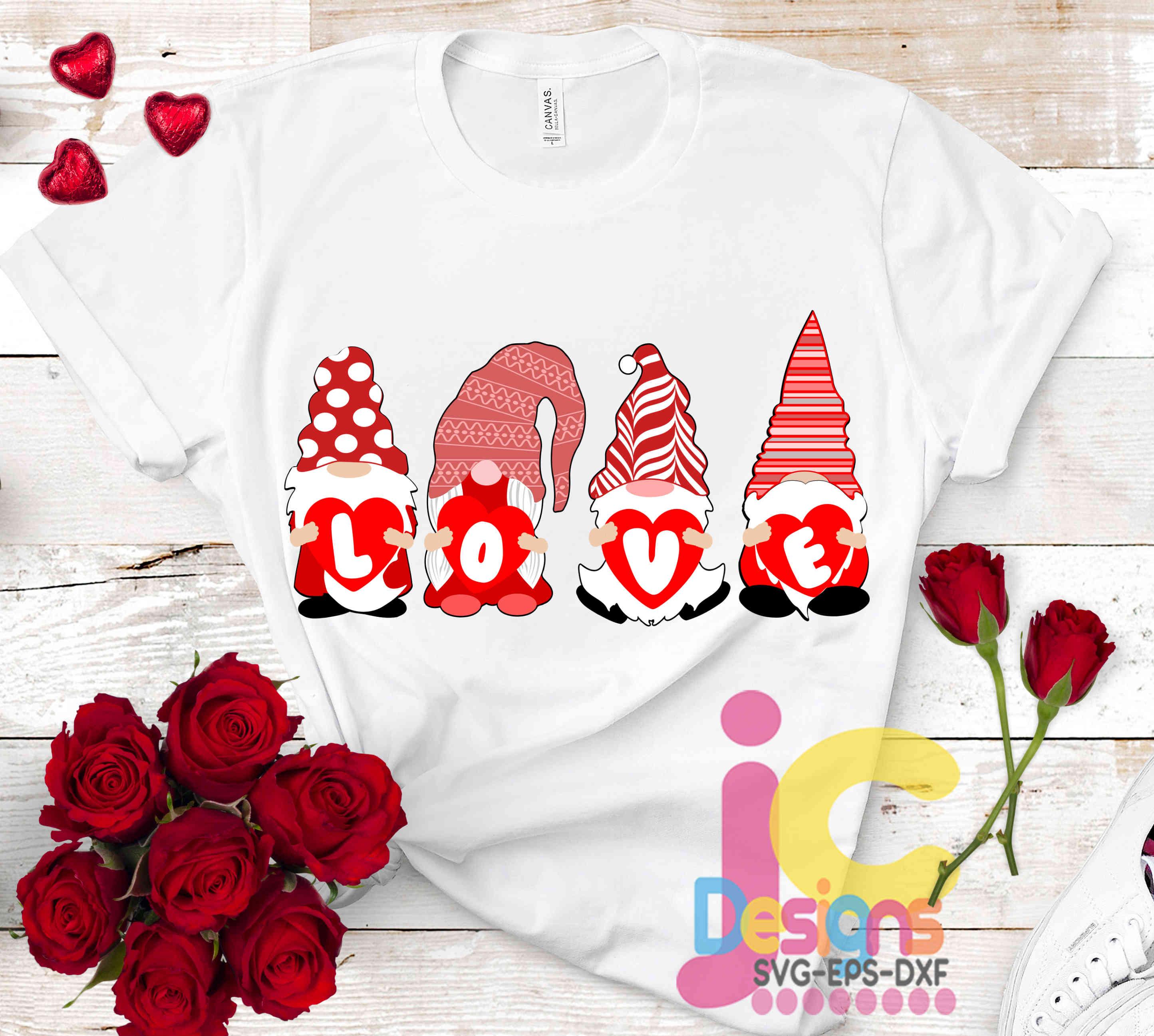 Download Valentine Gnome svg - Valentine Love SVG Valentines Day