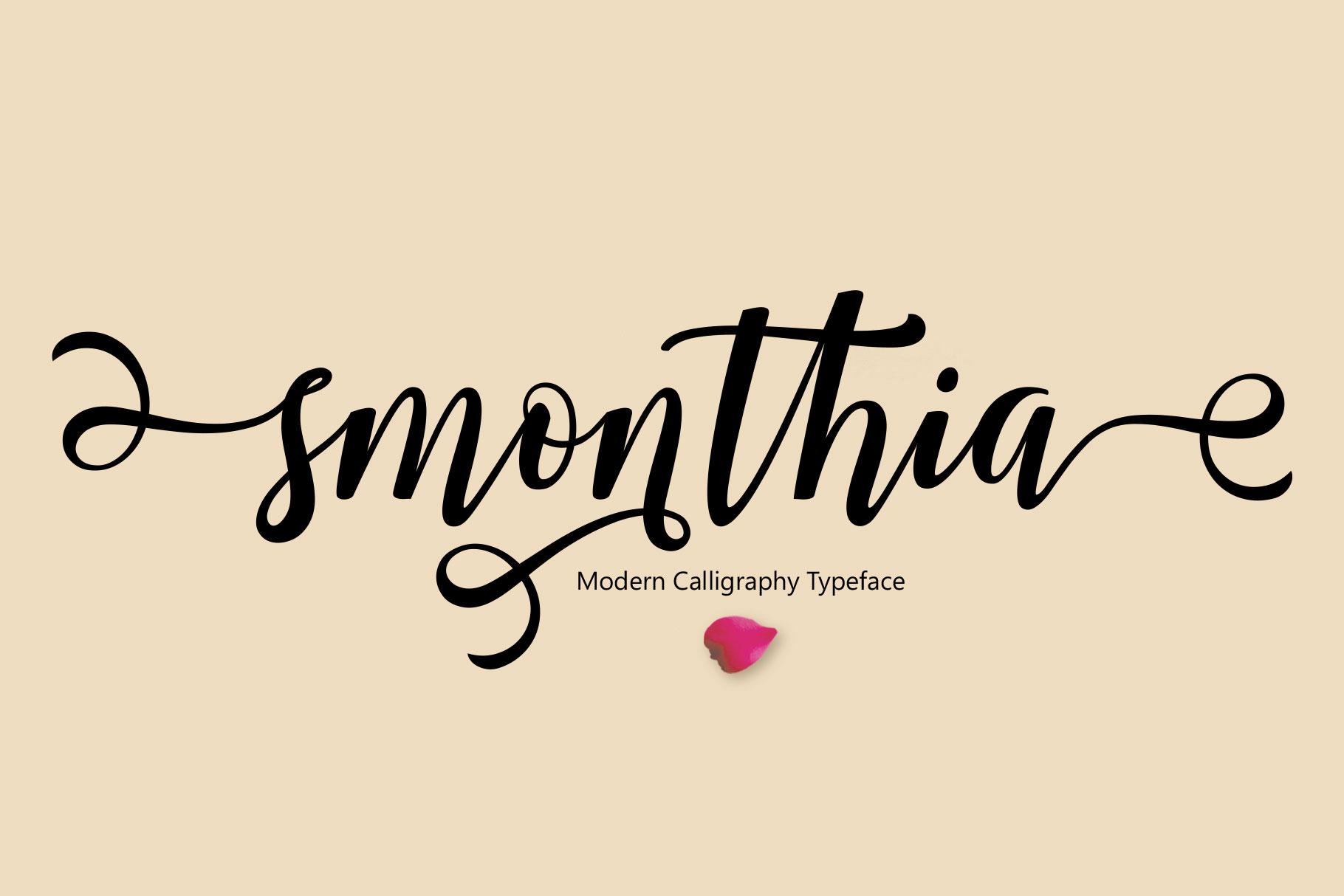 Smonthia Script example image 7