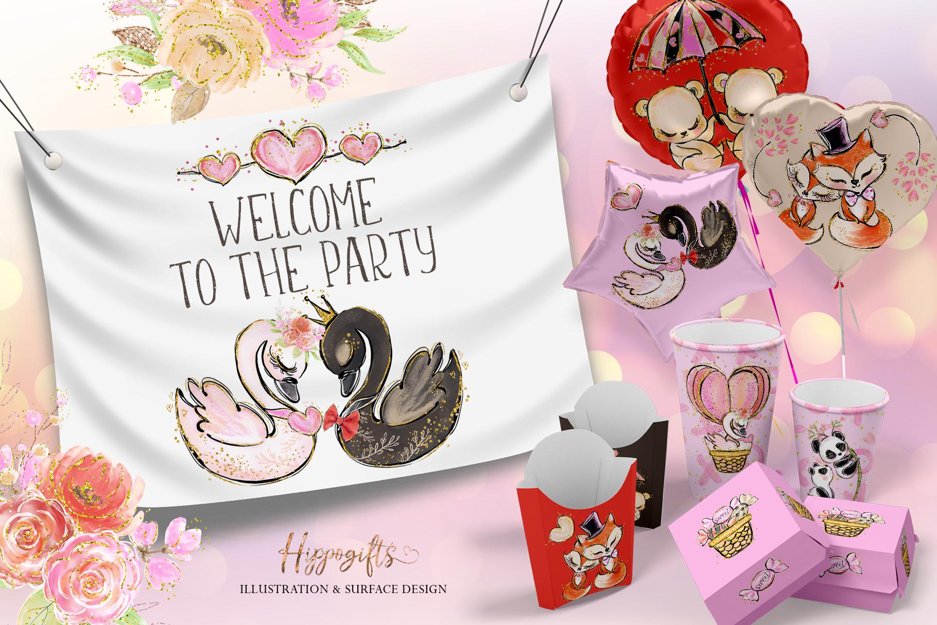 Valentine's clip art example image 10