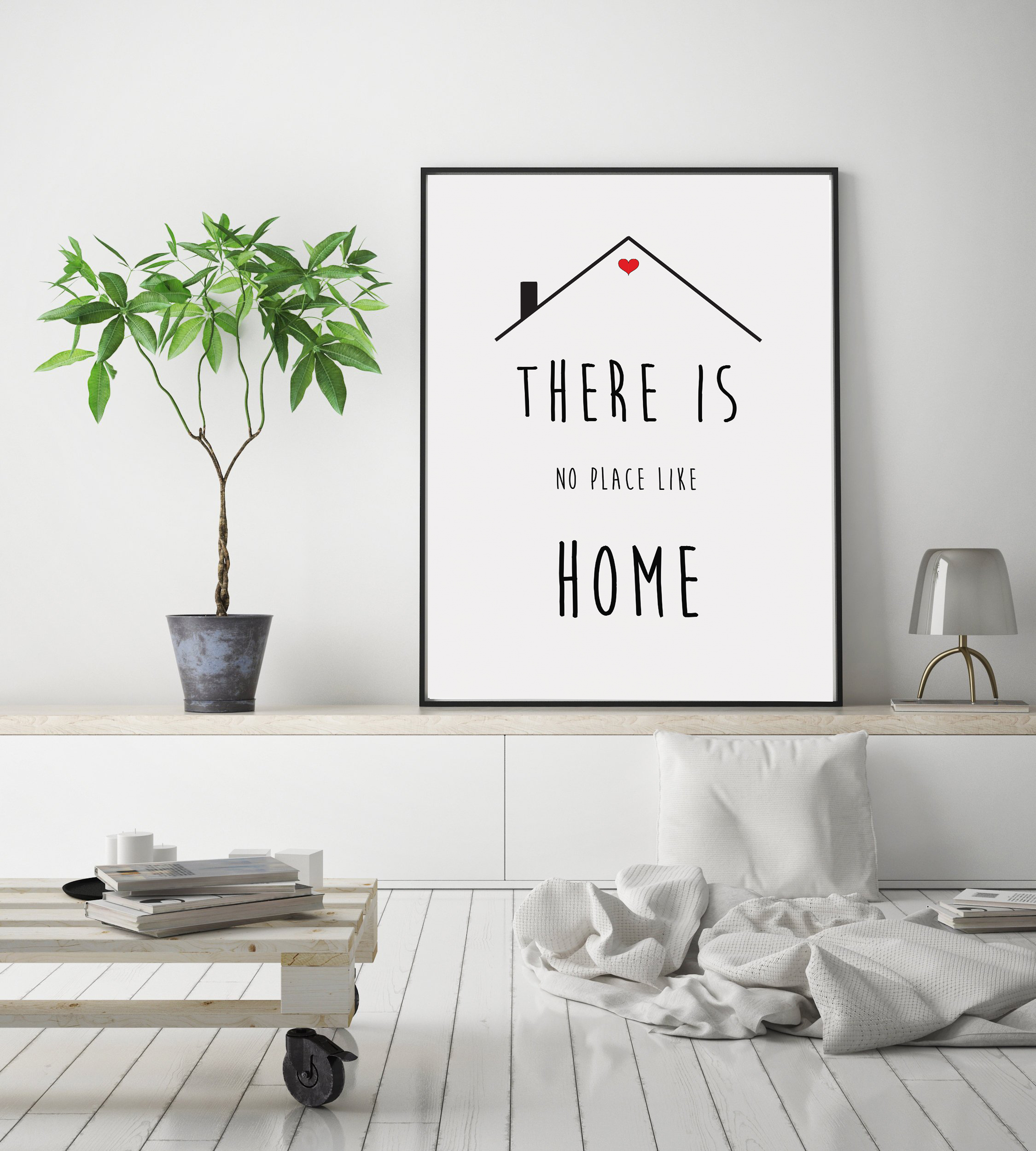 Minimalist Wall Art Quotes, Printable Home Quotes Poster example image 5