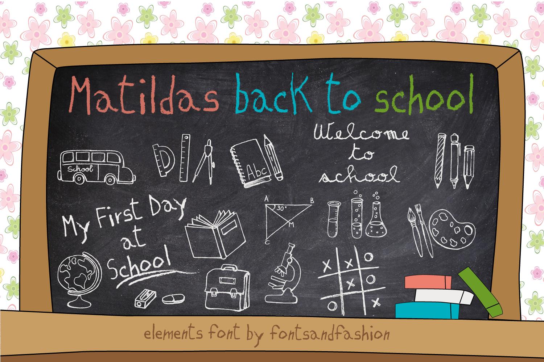 Matildas Back to School example image 1