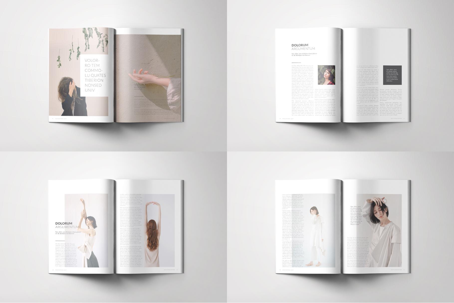 Minimalive Magazine example image 3