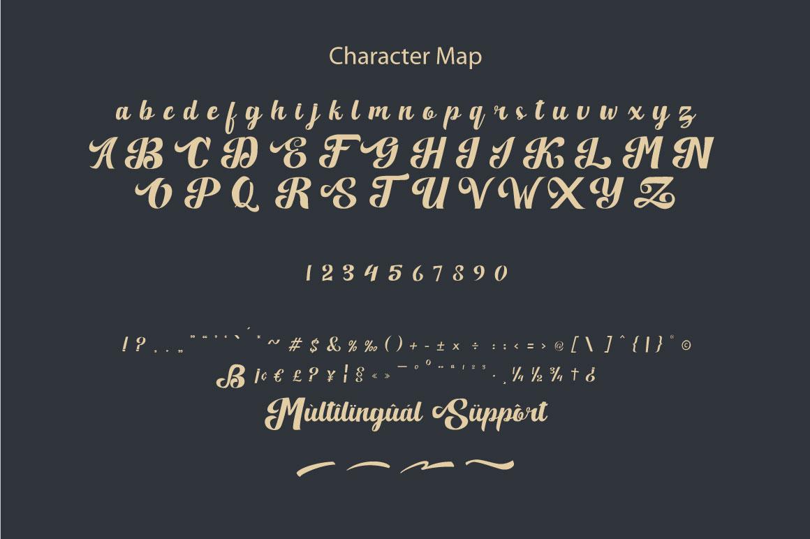 Quillotha - Script Font example image 2