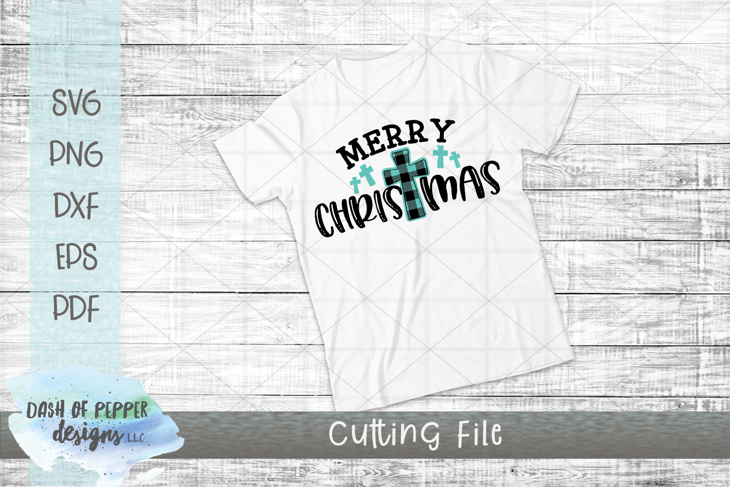 Merry Christmas Crosses SVG - A Christmas SVG example image 2