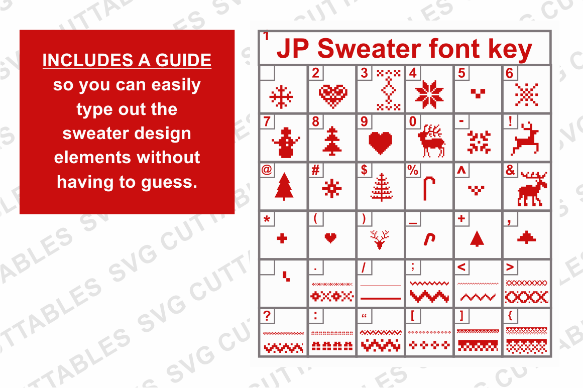 Ugly Christmas Sweater Design.Ugly Christmas Sweater Font