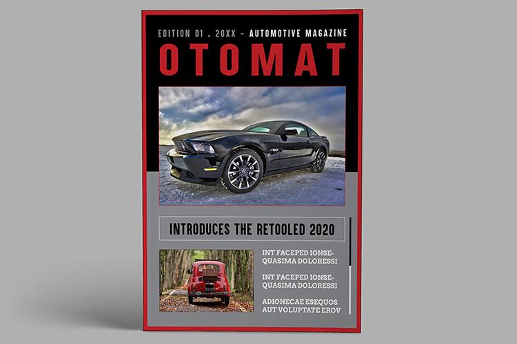 Automotive Magazine Template - Otomat example image 1