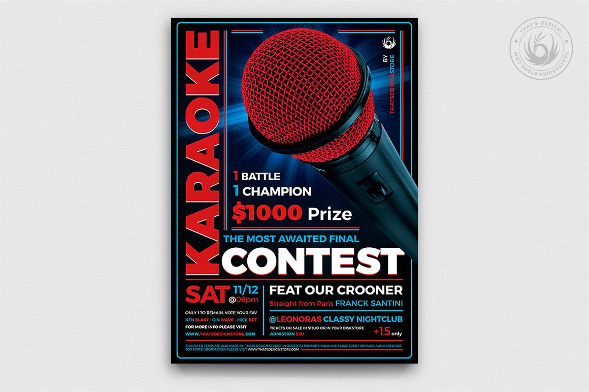 10 Karaoke Flyer Bundle example image 9
