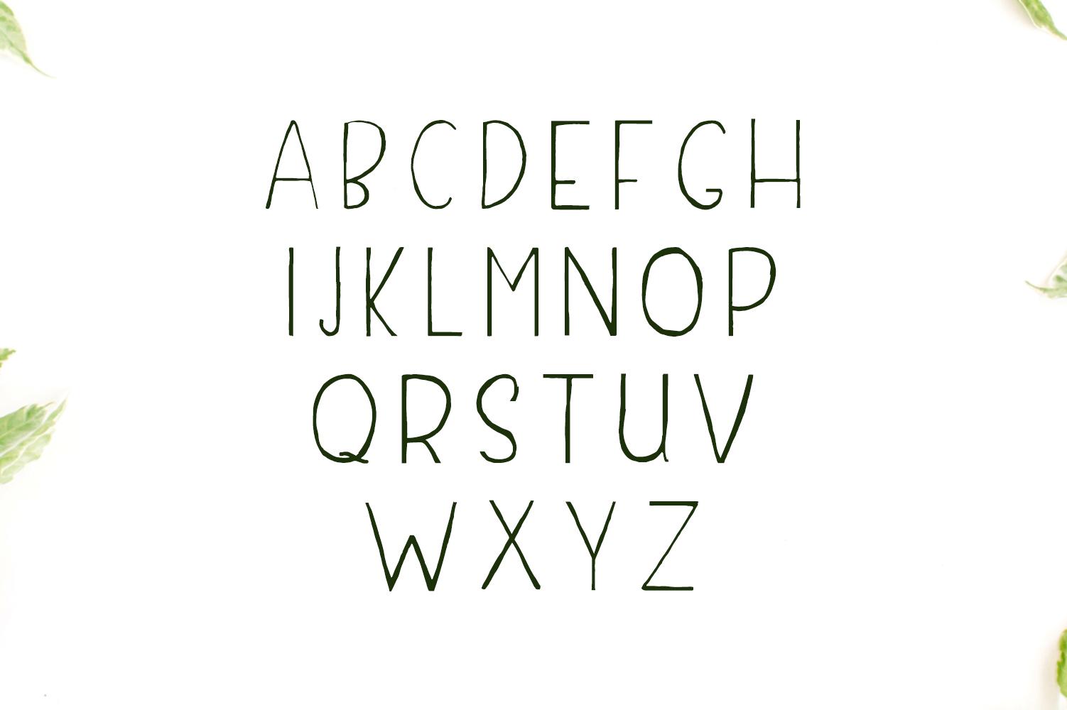 Damean Handmade Duo Font example image 2
