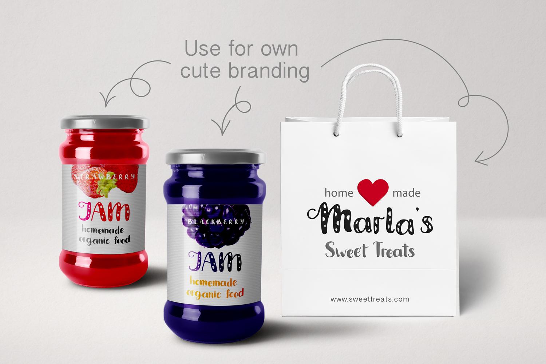 Amanita duo font example image 7
