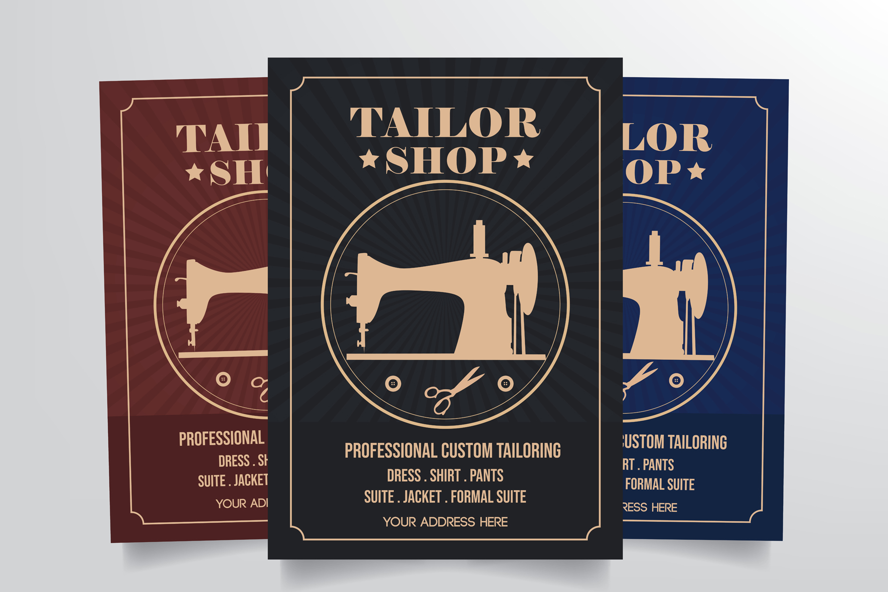 Tailor Shop Flyer Template example image 1