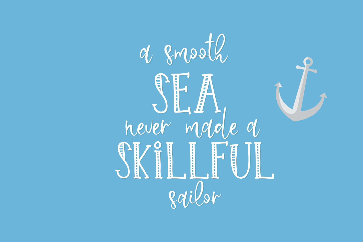 Sailor Brothers Font Duo example image 2