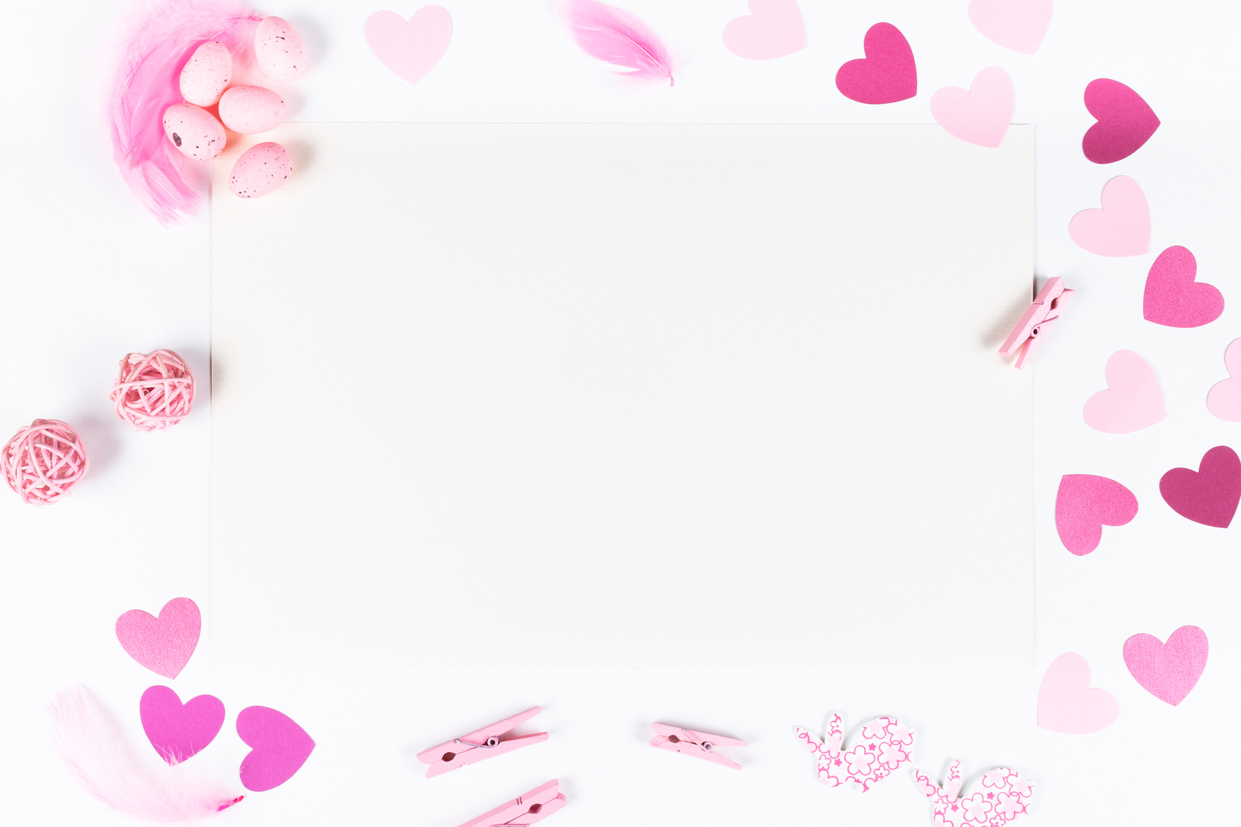 Set of 8 Valentine's Mockup's example image 2