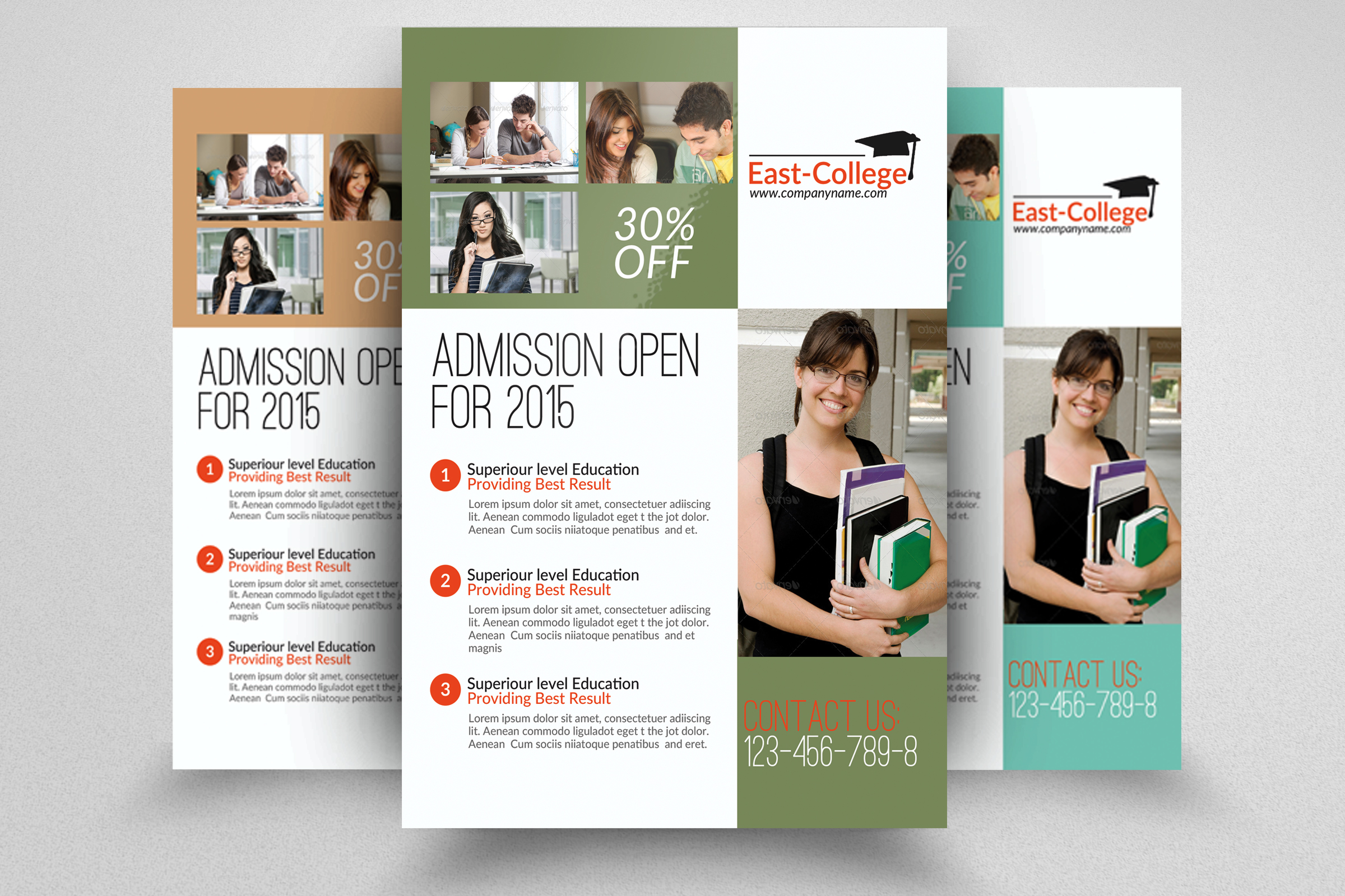 6 Education Flyers Bundle example image 7