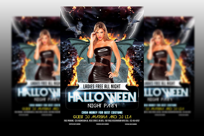 Nightmare Flyer example image 1