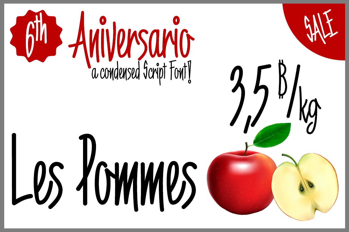 6th Aniversario example image 2
