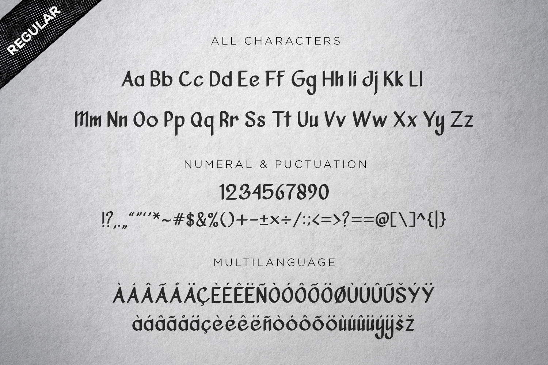Vanjar - Sans Serif example image 2