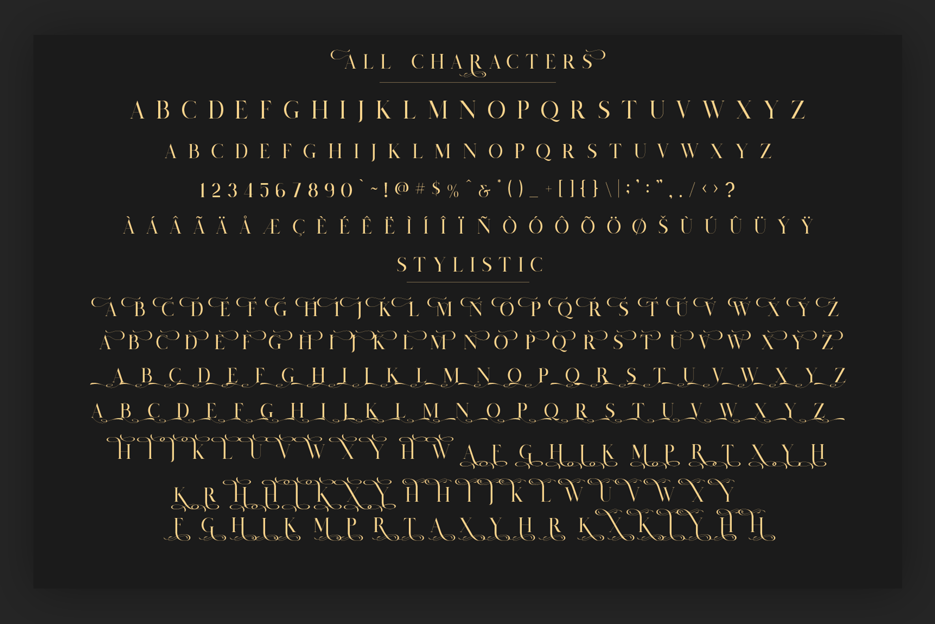 Salvalyn - Stylistic Serif Font example image 4