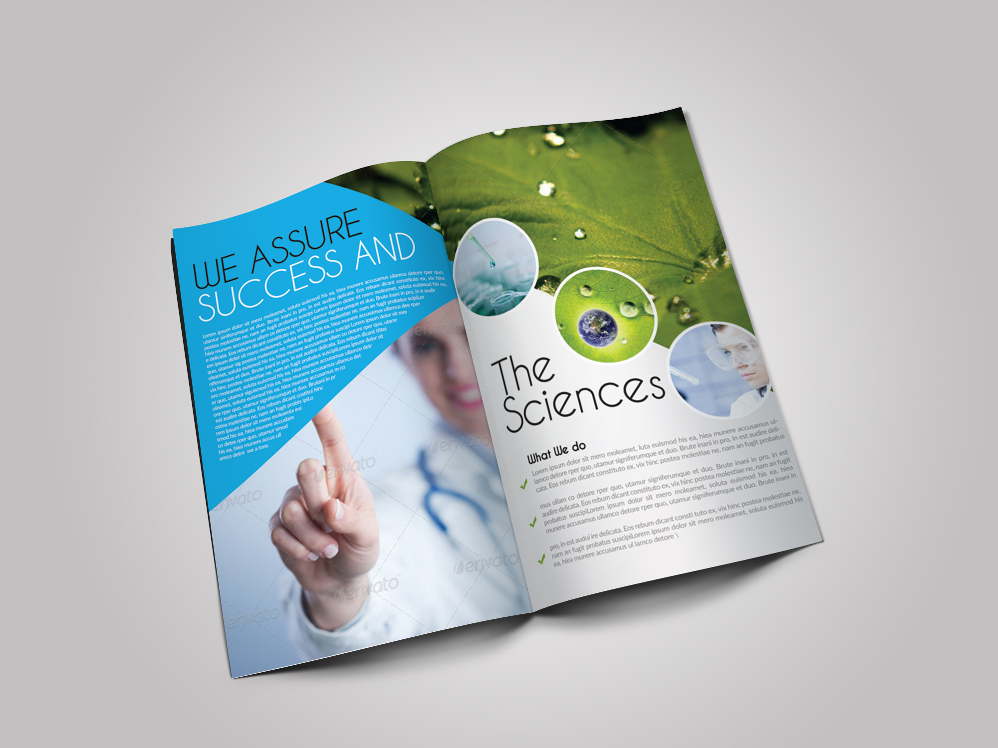 Medical Science Bifold Brochure example image 2