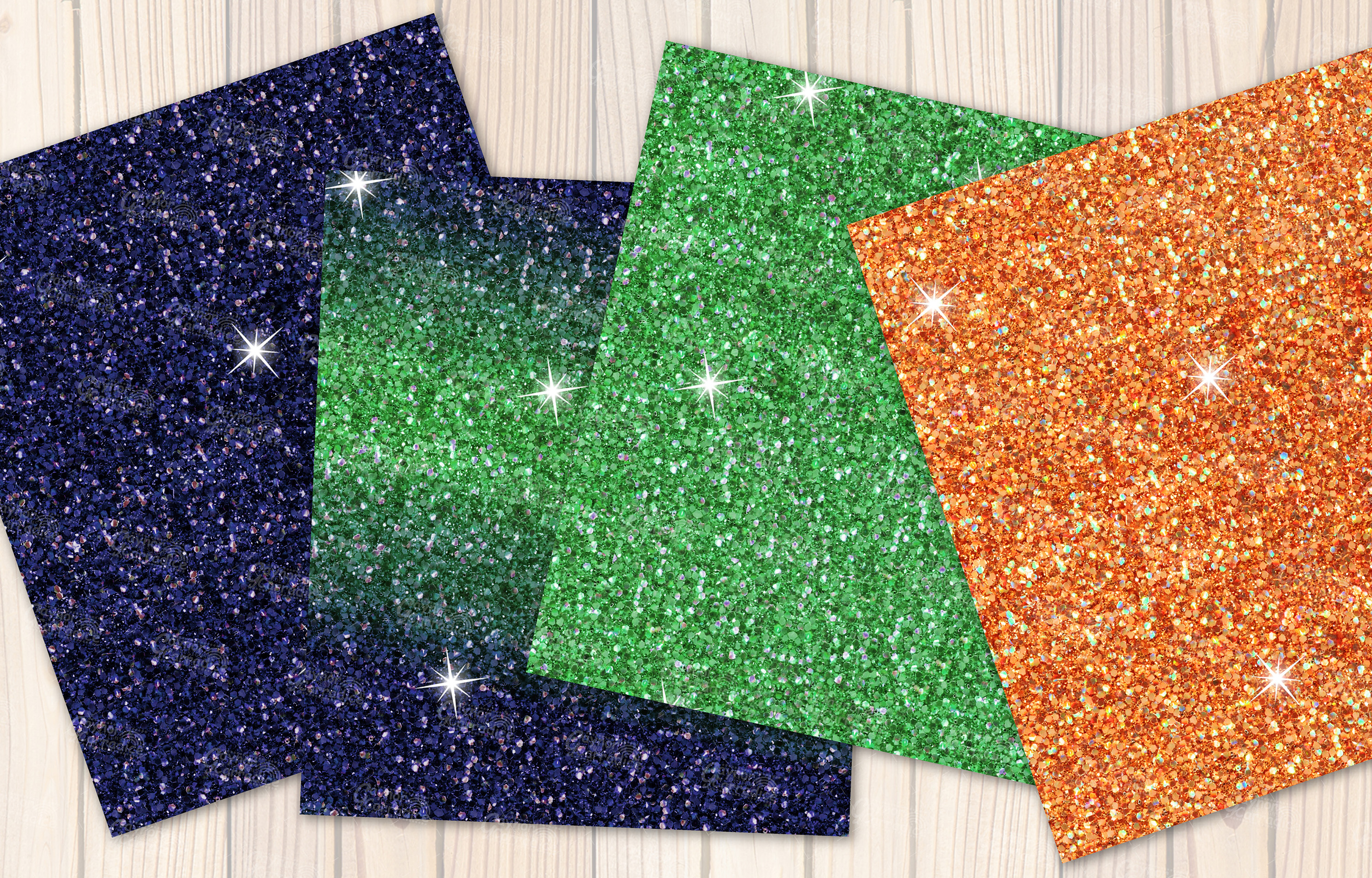 Mexican seamless Glitter backgrounds example image 4