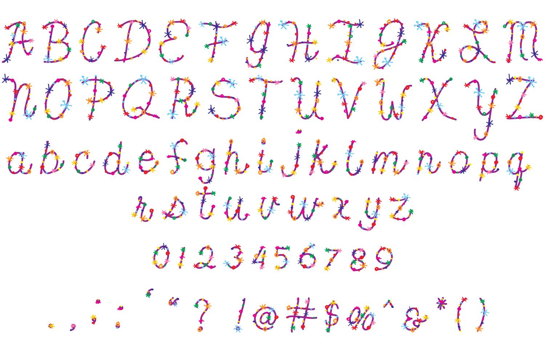 Confetti Font example image 2