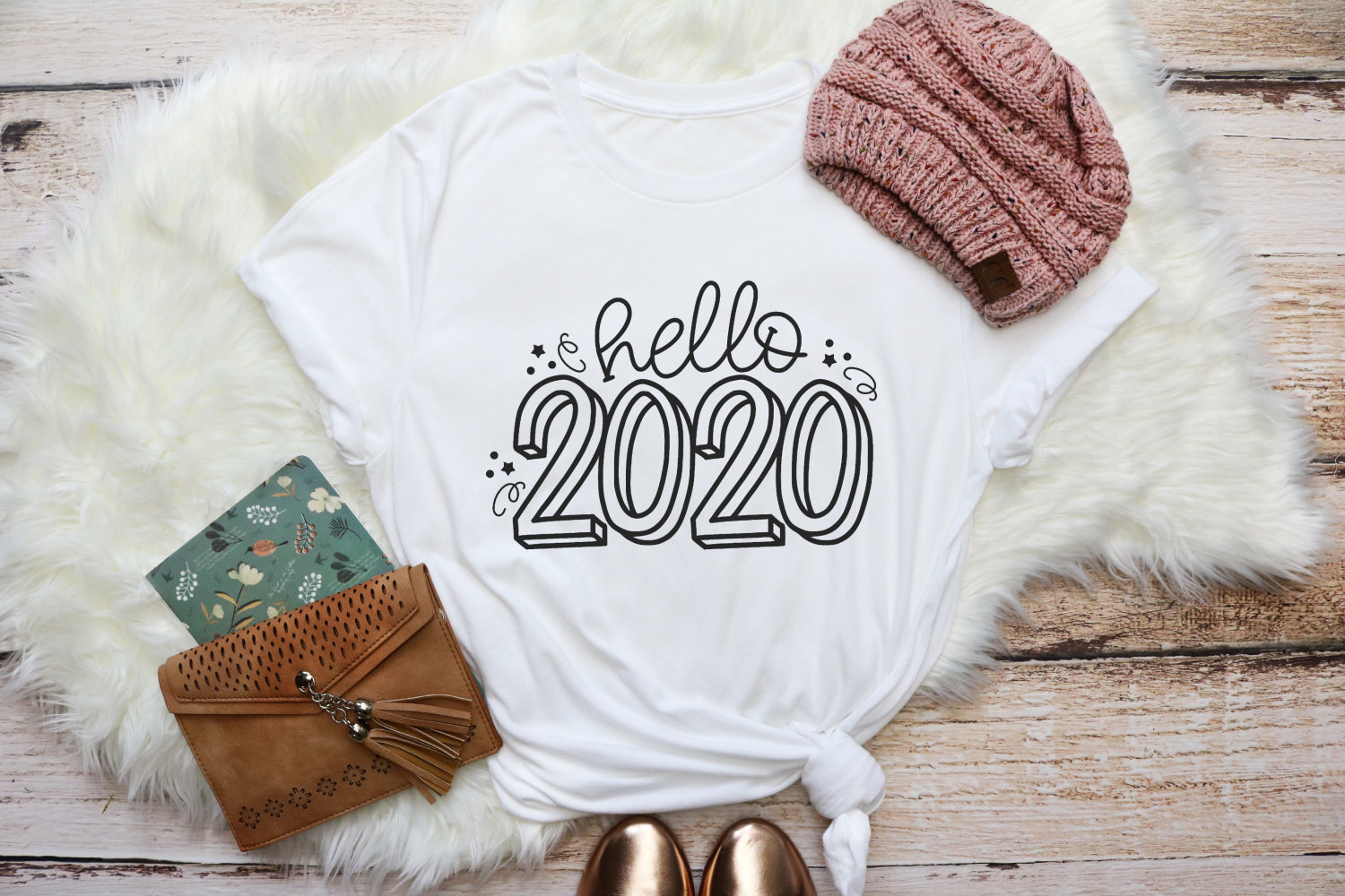 New Years - Hello 2020 SVG example image 2