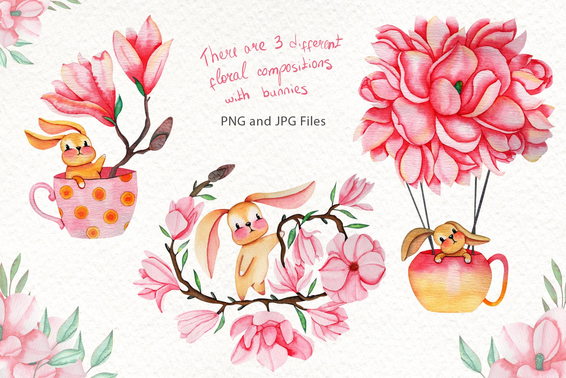 Magnolia Dream - Watercolor Illustrations example image 2