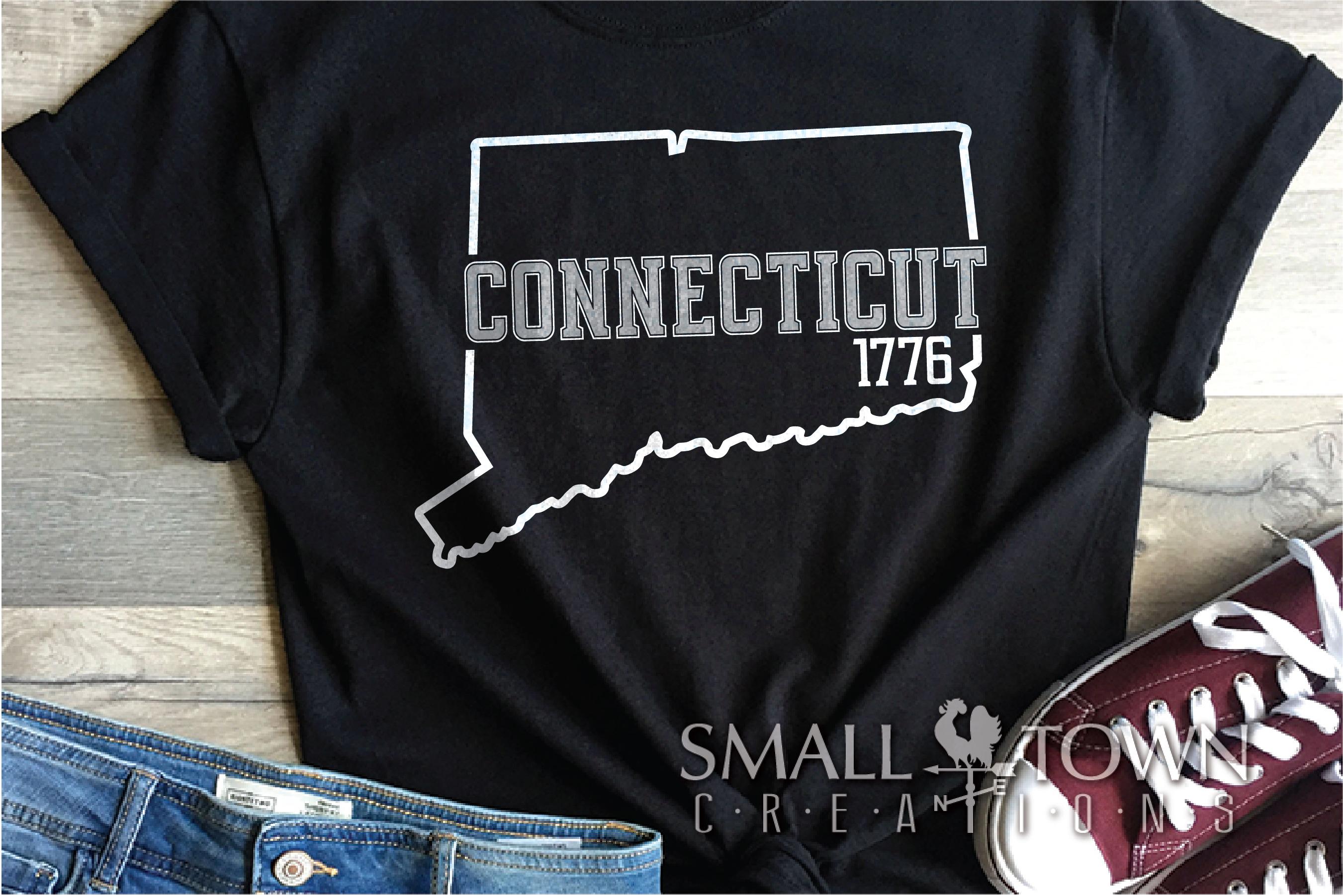 Connecticut, Constitution State slogan, PRINT, CUT & DESIGN example image 4