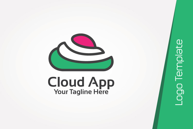 Color Cloud Logo Template example image 4