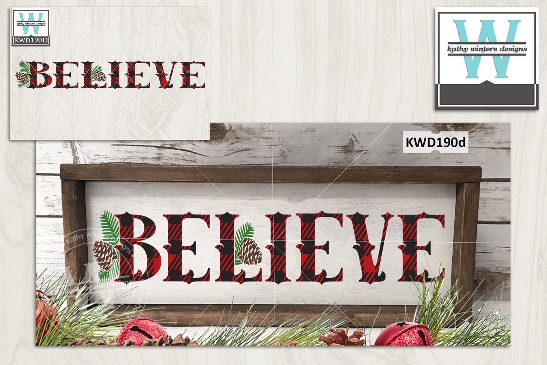 Christmas Svg Believe 158130 Cut Files Design Bundles