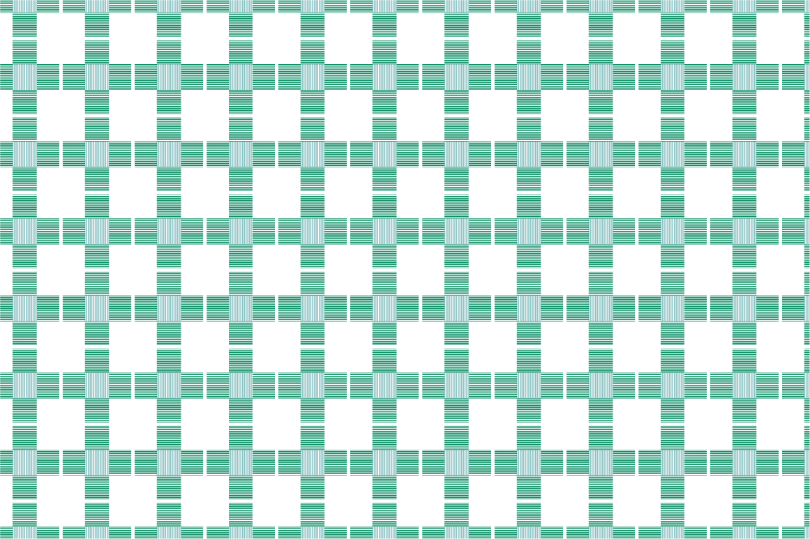 Green Textile Seamless Patterns. example image 3
