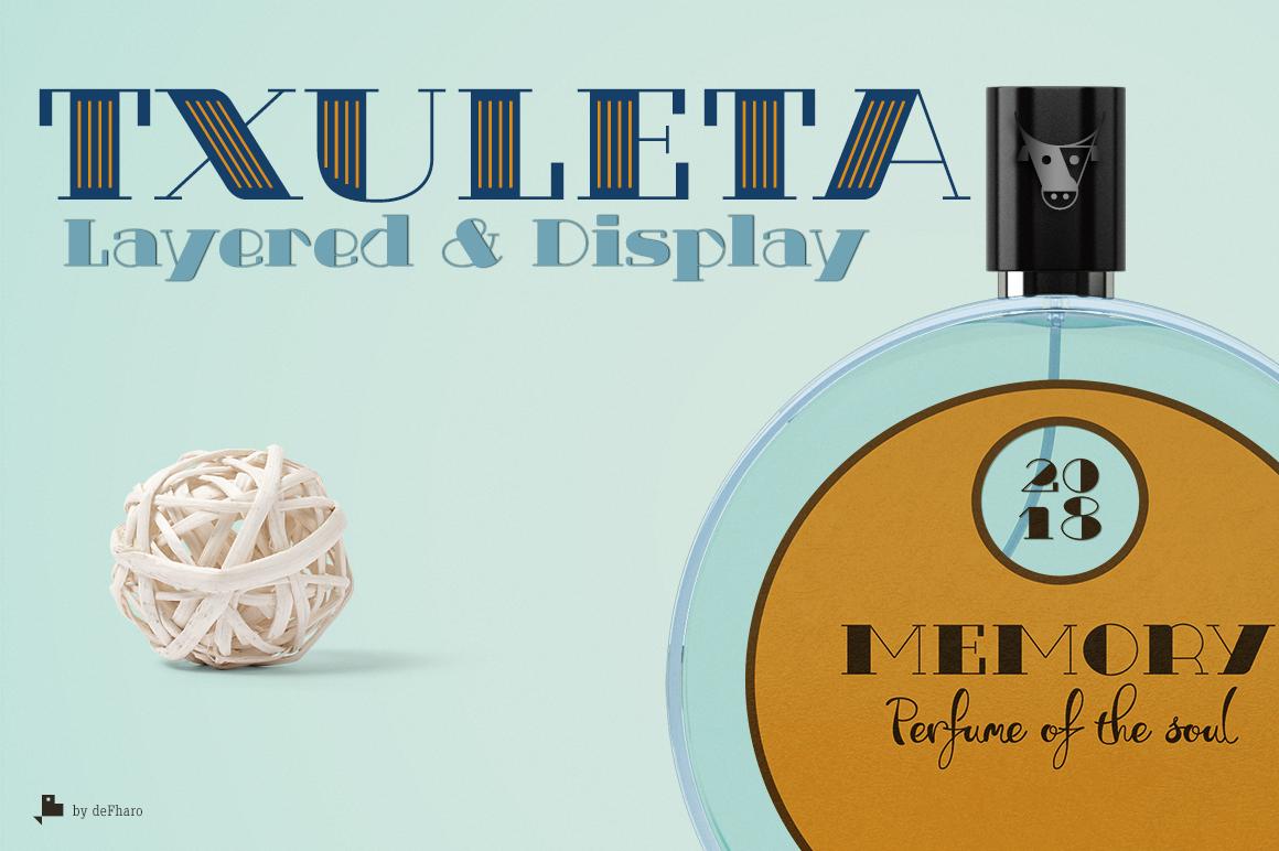 Txuleta Layered Fonts -3 styles- example image 1