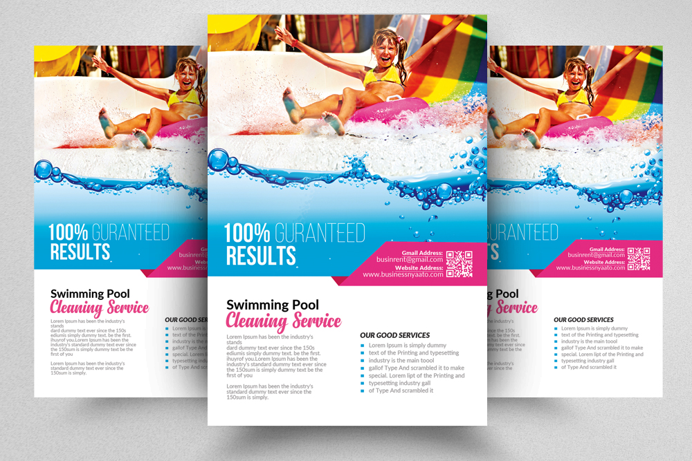 pool service flyers. 10 Pool Cleaning Service Flyers Bundle Example Image 9 Pool Service Flyers S