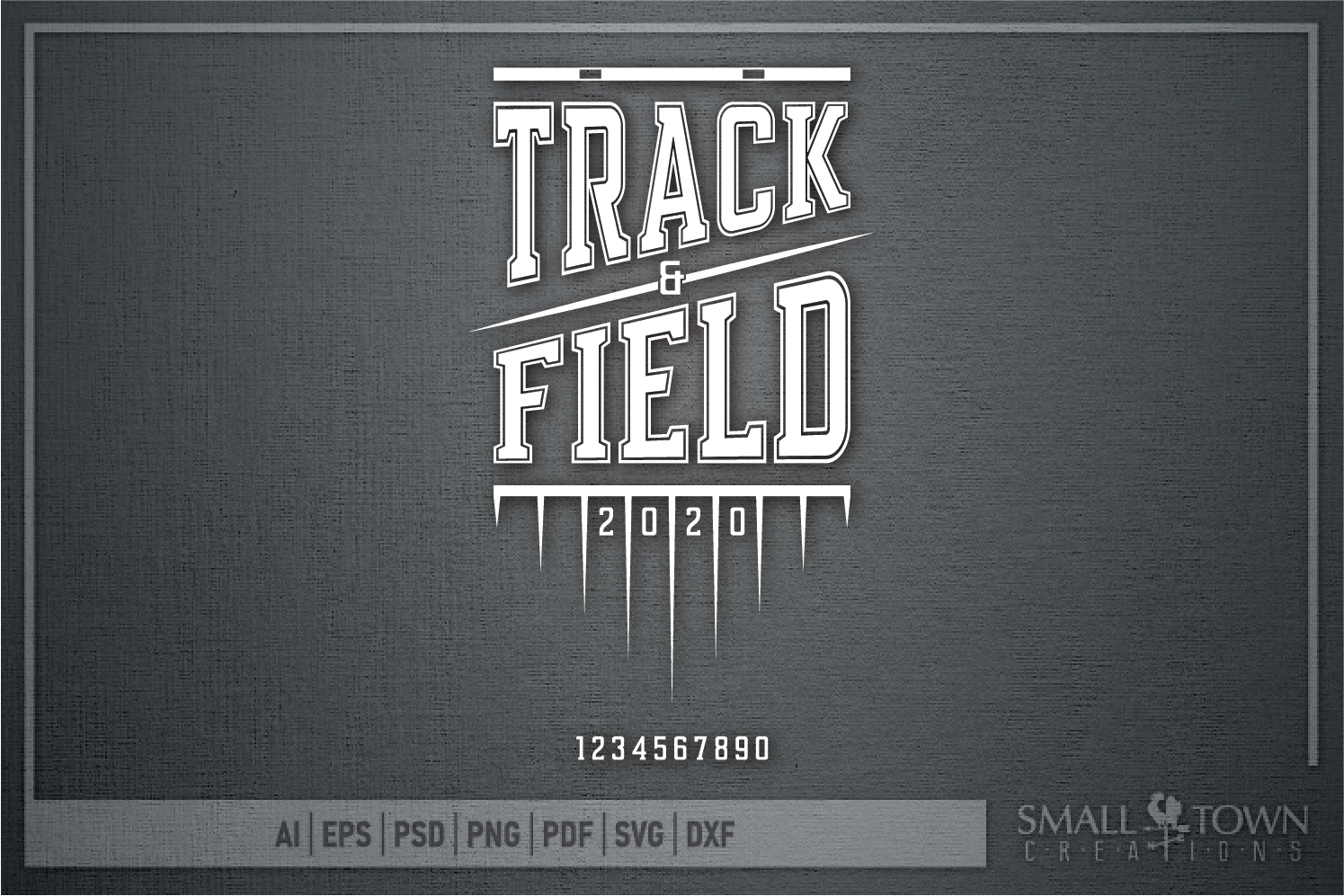 Track & Field, Track Team, Sport, Logo, PRINT, CUT & DESIGN example image 5