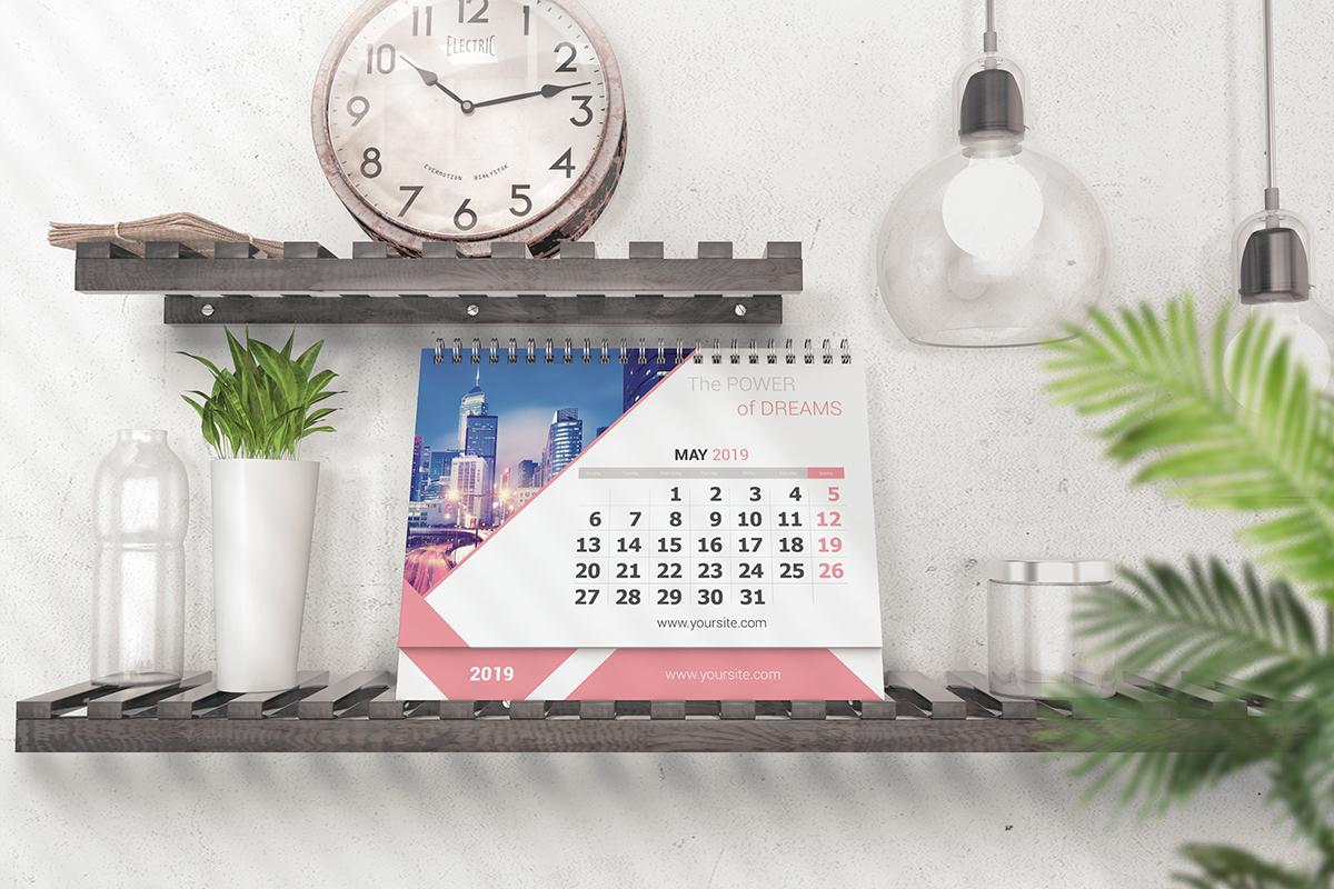 Various Desktop Calendars Mockup example image 5