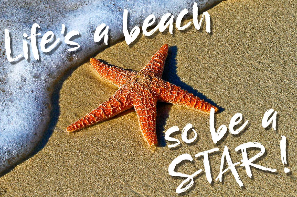 Breezy Beach: themed image mockup