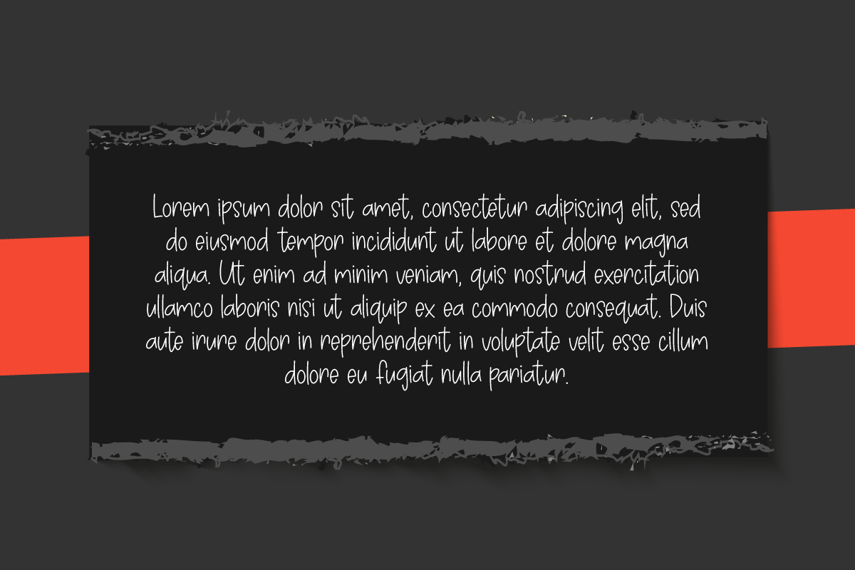 Avoids Dislikes | 3 Handmade Font example image 2