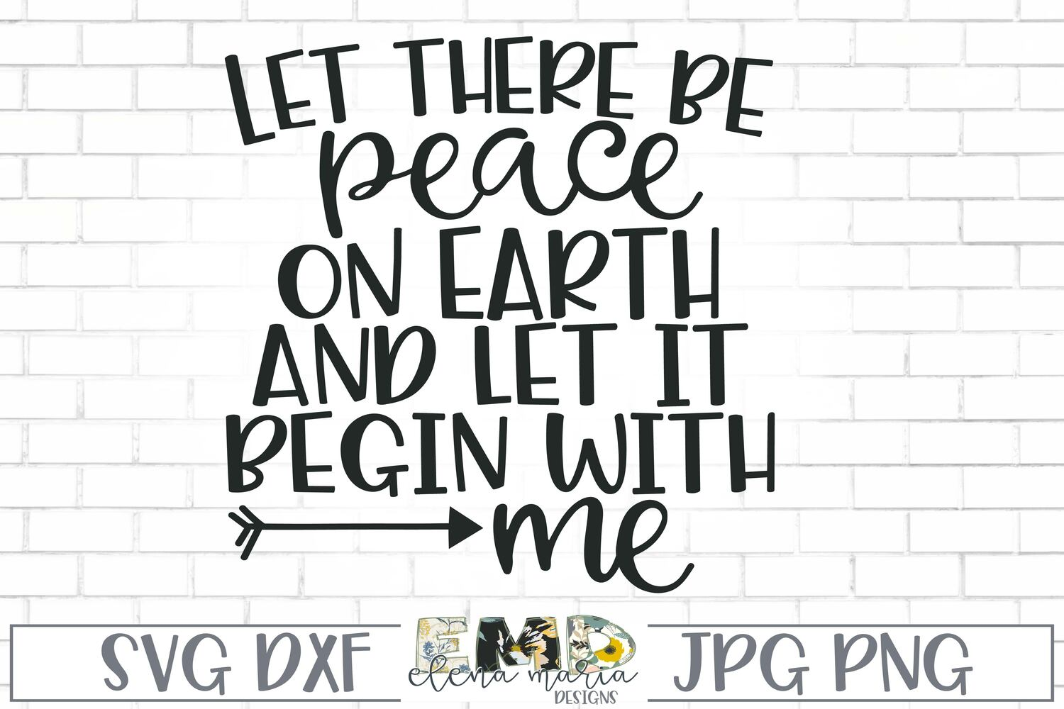 Christmas SVG | Let there be peace on earth Svg example image 2